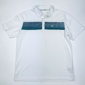 Travis Mathew Quick Dry Golf Polo Shirt L